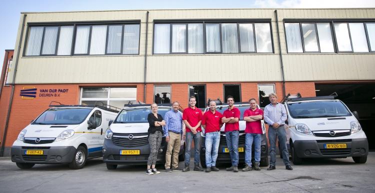 team Van der Padt deuren