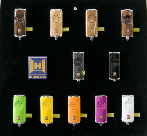 Hörmann handzenders in diverse modieuze kleuren